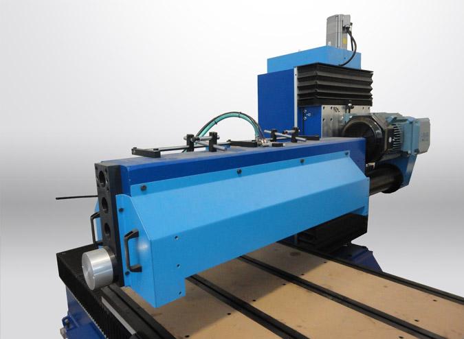 TR + BM Mobile/static flatbed with polishing unit (BM)